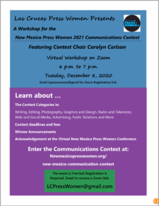 NMPW 2021 Communications Contest Workshop